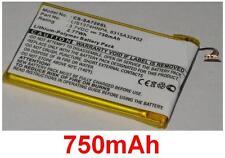 Batterie 750mAh type 8315A32402 8917A44167 LIS1374HNPA Pour Sony NWZ-A828