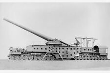 US Navy 14 inch 50 Caliber Railway Gun Mark II ca.1918 photo 8x12 reprint