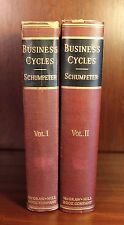 Business Cycles Joseph A. Schumpeter 1st Edition Economics 1939 Rare Keynes