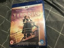 TITANIC -  3D COLLECTOR'S EDITION ( BLU RAY 3D + 2D BLU RAY ) 4 DISC set - NEW