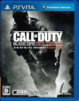 Call of Duty Black Ops Declassified PSV Vita CIB Japan
