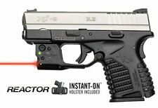 Viridian R5-R-Xds for Sprinfield Xds Reactor 5 Red Laser Sight Ecr Belt Holster