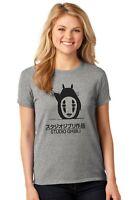 Studio Ghibli Totoro Grey  Print Mashup adults T shirts