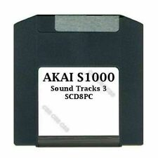 Akai S1000 100MB Zip Disk Sound Tracks 3 SCD8PC