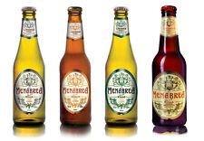 Birra Menabrea 33cl - 6 bot. bionda, 6 bot. ambrata, 6 bot. strong, 6 bot. rossa