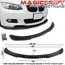 FITS: 05-10 BMW E90/E92 POLY URETHANE UNDER FRONT BUMPER LIP SPOILER SPLITTER