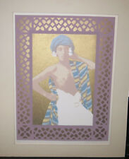 Original Estera Pollock Lithograph Arab Boy 1/50 SIGNED University of Iowa