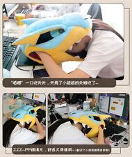 Monster Hunter Tigrex Sleeping Pillow Plush Cushion Office Nap Pillows Anime Toy