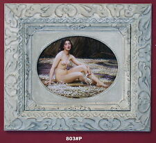 Nude Lady Framed Oleograph / Oilograph  803#P  Reproduction Picture , Art