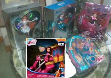 LOT OF 6 WINX CLUB BLOOMS Dolls SDCC 2012 SILVER & BLUE exclusive Pink Enchantix