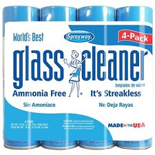 Sprayway Glass Cleaner (19oz., 4pk.) Free Shipping