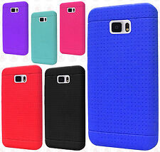 Samsung Galaxy Note 7 Rugged Rubber SILICONE Soft Gel Skin Case +Screen Guard