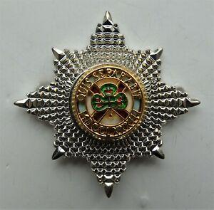 British Army Irish Guards Officers Cap Badge