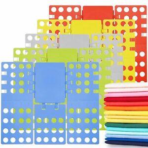 NEW Version V2 Clothes Folder Laundry Dress Shirt Folding Board Shirt Organizer