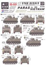 Star Decals 1/35 U.S. PARAS IN VIETNAM 82nd, 101st, & 173rd Airborne Divisions