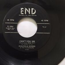 "R&B POPCORN 45/ MALCOLM DODDS ""CAN'T YOU SEE"" / ""FOOLS RUSH IN""   HEAR!"