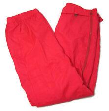 ROFFE Men's (Size 34 36 x 30) Ski Pants Vintage 80's Neon Hot Pink Retro Skiing
