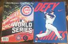2016 Chicago Cubs vs Cleveland Indians World Series Program Official MLB