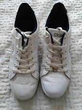 Kappa White Lace Up Trainers Size UK 8