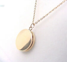 ANTIQUE BABY or CHILDS LOCKET circa 1890-1910  10K YELLOW GOLD with CHAIN