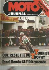 MOTO JOURNAL N°464 1100 HONDA GOLD WING / AMORTISSEURS FOURNALES / HONDA USINE