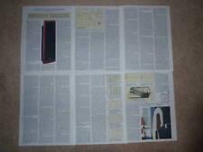 Infinity IRS Epsilon Speaker Review,1995,6 pgs, Rare!