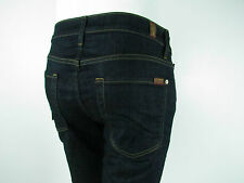 Seven 7 For All Mankind SLIMMY SLIM STRAIGHT Jeans Men SZ 36 IN DARK AND CLEAN