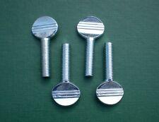 4 Thumb Screws M8 x 30 BZP Thumbscrews