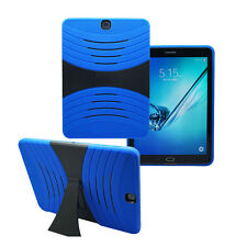 """For Samsung Galaxy Tab S2 9.7"""" T810 Hybrid Military Shockproof Stand Case Cover"""
