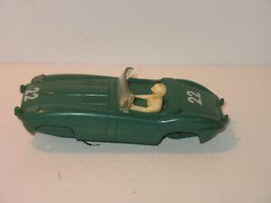 1960'S 1/32 SCALE MARX JAGUAR SLOT CAR MODEL JUNKYARD UN-TESTED PARTS