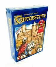 New & Factory Sealed CARCASSONNE Rio Grande BOARD GAME With River Expansion