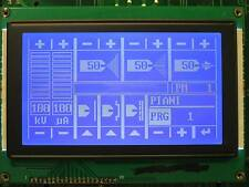 DISPLAY LCD GRAFICO 240x128 BLUE LED BIANCO ORE 12 CONTROLLER T6963C