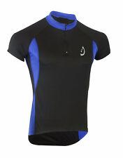 Deckra Mens Cycling Jersey Short Sleeves mtb Biking Top Jersey Shirt Team Racing