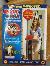 As Seen on TV® Magic Mesh Hands-Free Screen Door (FREE SHIPPING)
