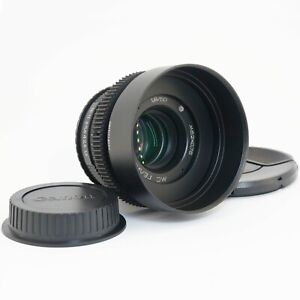 Helios 77m F1.8 50mm Anamorphic oval bokeh cine lens for Canon EF, Sony E, M4/3