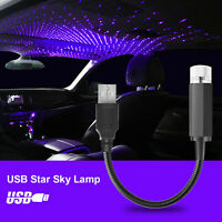 USB Car Interior Roof Atmosphere Starrry Sky Lamp Star LED Projector Light
