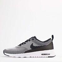 Nike Air Max Thea Jacquard Womens Trainers Shoes Black/White