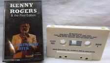 Kenny Rogers & The First Edition 16 Greatest Hits-Cassette Tape-1987 Golden Cir.