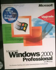 MICROSOFT Windows 2000 Professional upgrade a NT 3.51/4.0 RETAIL GENUINO!