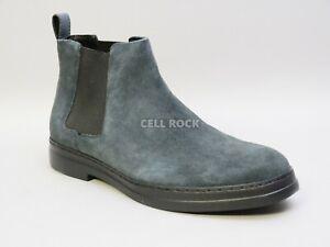 CK Calvin Klein Men's Rixley Suede Chelsea Boots Shoes GRAY 9.5 M