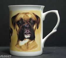 Boxer Dog Fine Bone China Mug Cup Beaker