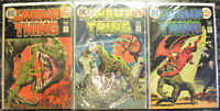 SWAMP THING (3-Book) Comic LOT with #12, 13, 15 (1974-1975 | Marvel) Bronze Age