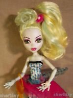 Monster High Doll DOT DEAD GORGEOUS LAGOONA WITH ACCESSORIES