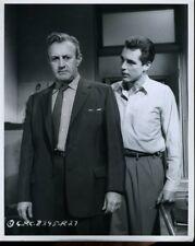 LEE J COBB KERWIN MATHEWS  GARMENT JUNGLE 1957 ORIG 8X10 PHOTO   X3122