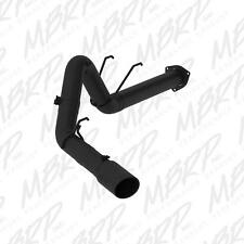 "2017 F-250 F-350 Super Duty MBRP Filter Back 4"" Exhaust Kit No Muffler Black NEW"