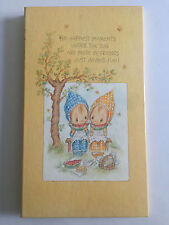Vintage Hallmark Betsey Clark Friends Photo Album 1975 8 Pages or 24 Pics