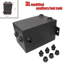3L Car Competition Modified Auxiliary Fuel Tank All Aluminum Thickened Fuel Tank