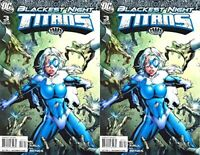 Blackest Night: Titans #3 (2009) DC Comics - 2 Comics