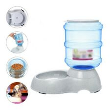 Dog Automatic Drinking Water Dispenser Feeder Cat Feeding Bowl Large Capacity