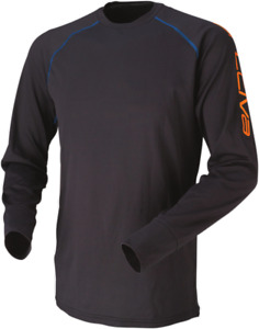 Arctiva - 31500227 - Evaporator Long Sleeve Top Shirt Black Medium MD